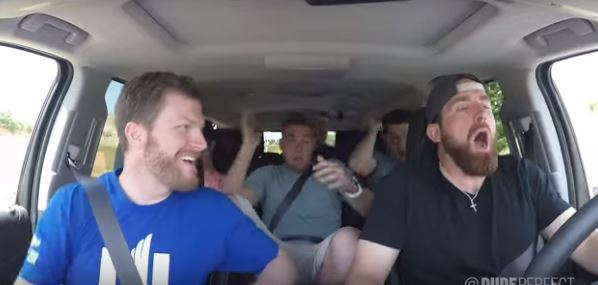 Dude Perfect Does Driving Stereotypes Featuring Dale Earnhardt Jr.