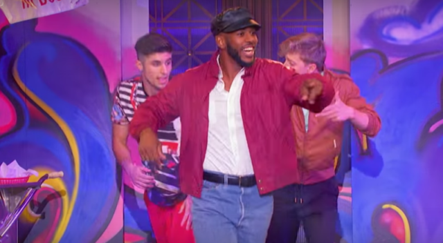 Chris Paul Performed New Edition's 'Candy Girl' On 'Lip-Sync Battle'