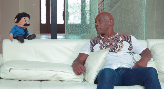 Mike Tyson Participated In A Painfully Awkward Interview With A Puppet