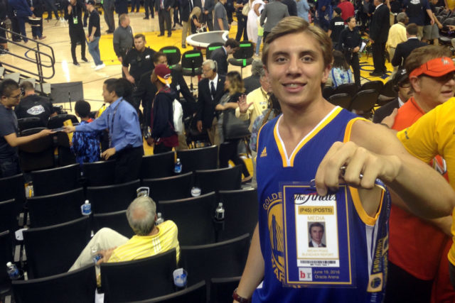 Micah Poag Used Photoshop and Confidence To Sneak Into Game 7 Of the 2016 NBA Finals