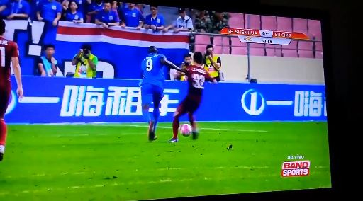 Soccer Player Demba Ba Shattered His Leg Playing In the Chinese League (NSFL)