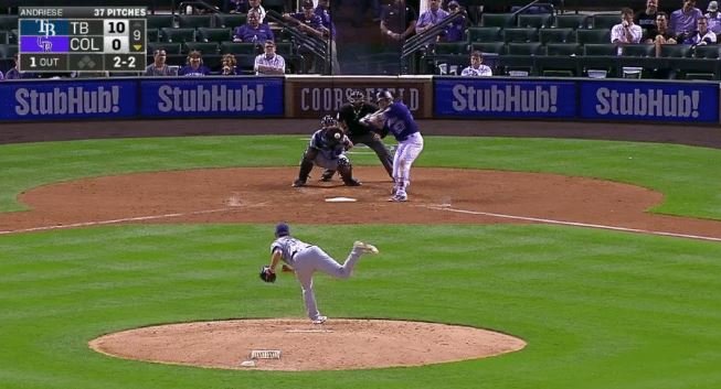 Trevor Story Went Deep For The Second Day In A Row