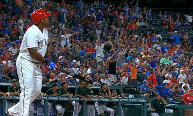 Adrian Beltre Hit A Much-Needed Walk-Off Home Run For The Texas Rangers