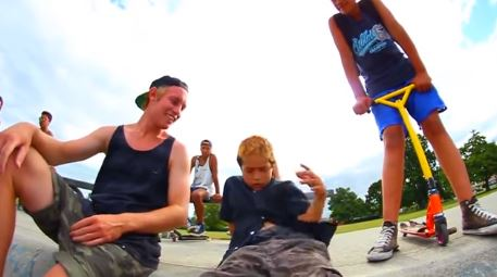 This 8-Year-Old Australian Kid Was Wasted At A Skate Park