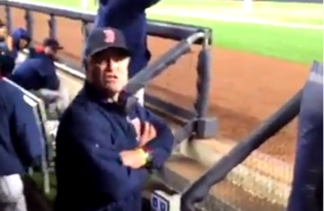 Did John Farrell Just Win the Manager Of the Year Award By Telling This Fan To Shut His Ass Up?