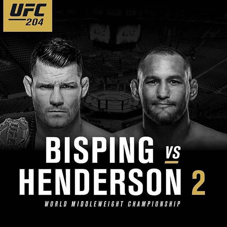 UFC 204, Bisping vs. Henderson 2 Will Be Awesome