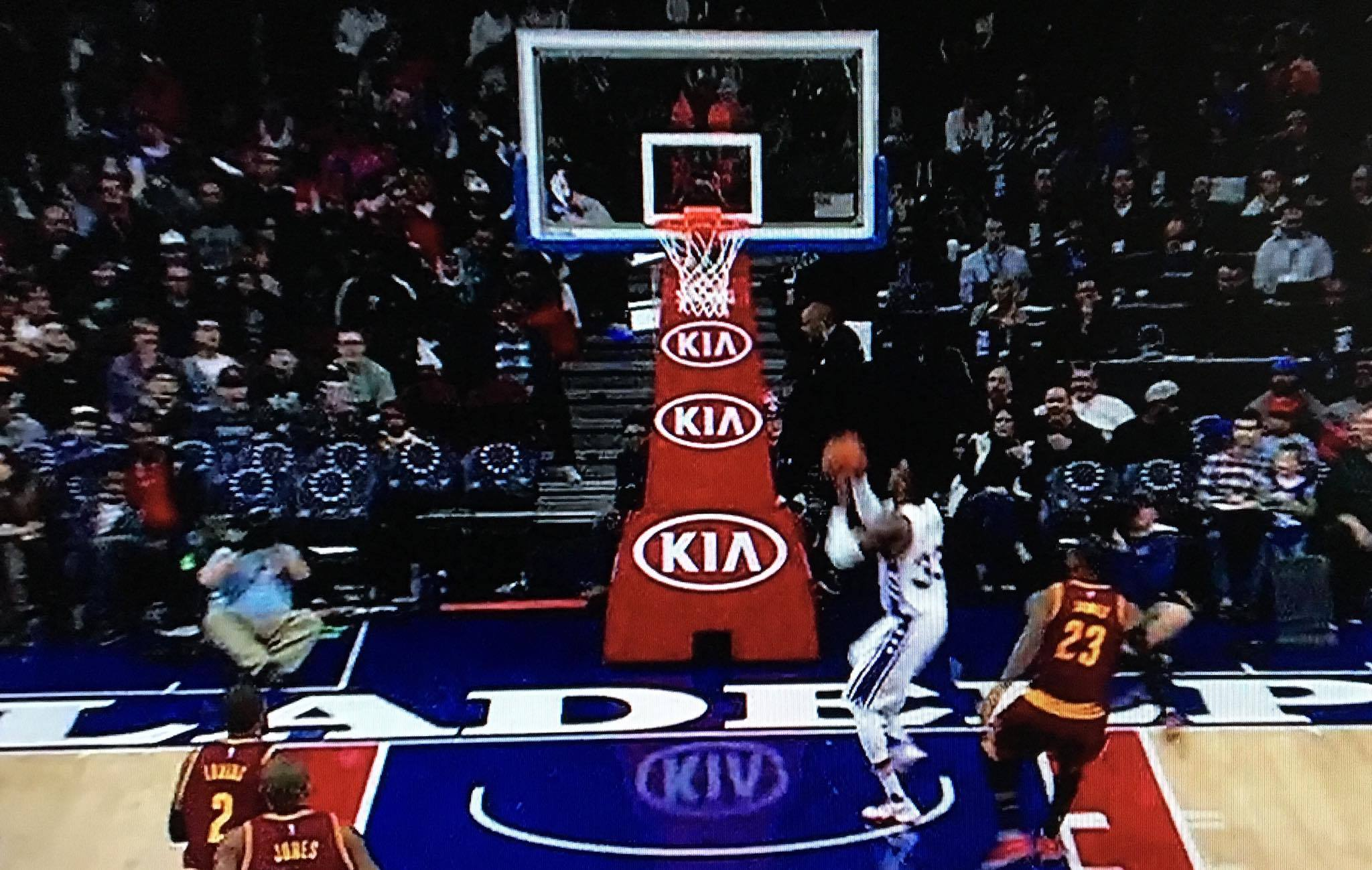 LeBron James Scared the Crap out of Robert Covington