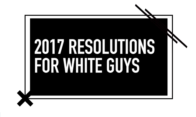 MTV News Releases New Year's Resolutions For 'White Men'