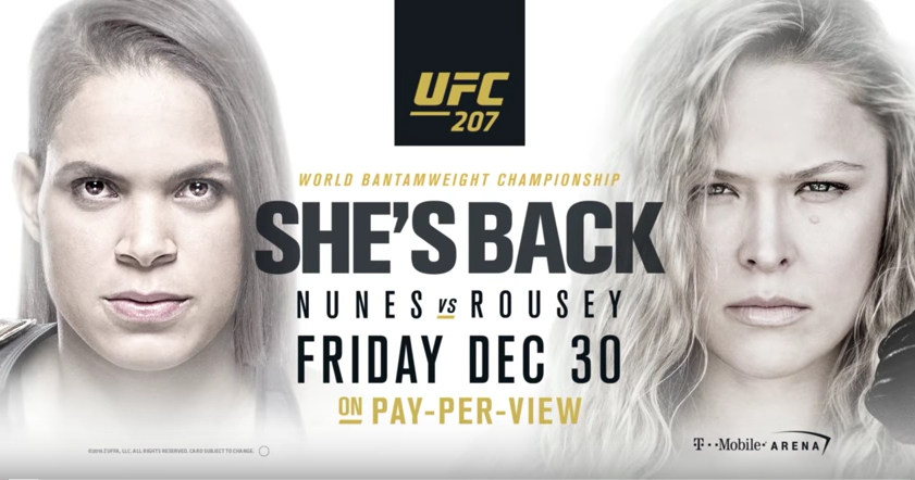 Just A Heads Up: Ronda Rousey Is Making Her Comeback Tonight At UFC 207