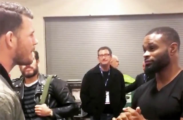 Michael Bisping And Tyron Woodley Verbally Agree To Fight In 2017