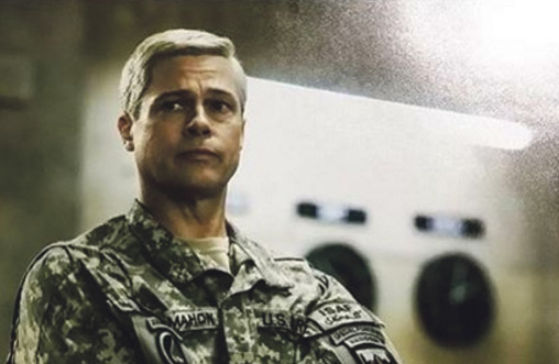 Start Your Week Off With A Trailer For A New Brad Pitt Netflix Movie Called 'War Machine'