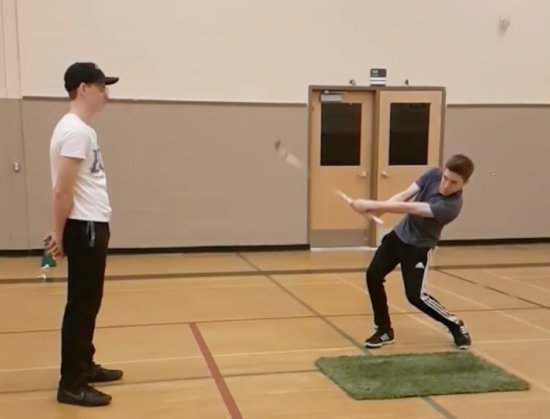 This Golf Trick Shot Might've Been Cool If It Didn't Drill A Guy In the Face