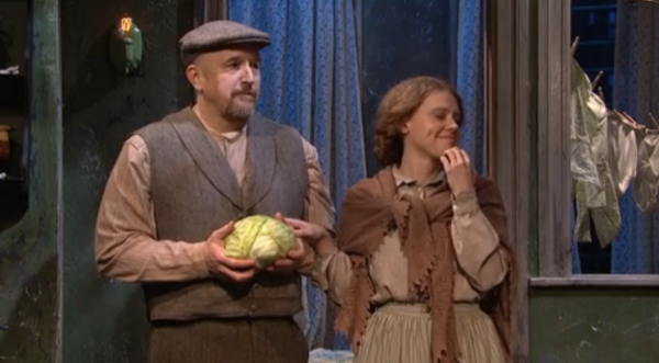 Louis C.K. and Kate McKinnon Break Character During Hysterical 'SNL' Skit