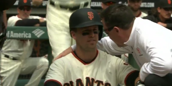 Update On Buster Posey's Status After He Was Drilled In the Head By A Pitch (Video)