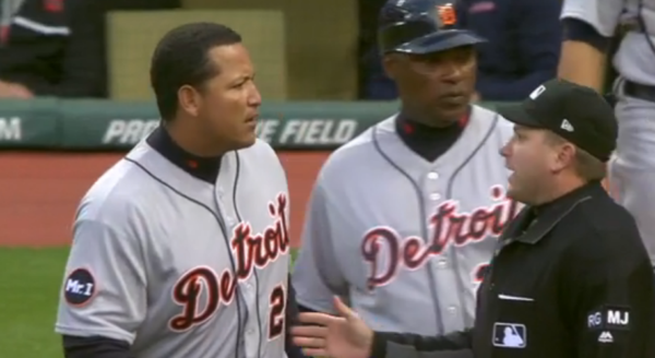 You Won't Like Miguel Cabrera When He's Angry