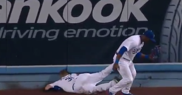 Joc Pederson Hurt In Scary Collision With Yasiel Puig