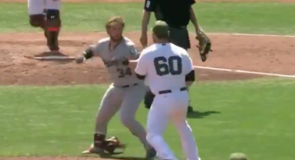 Bryce Harper Charges Mound, Throws Haymakers At Hunter Strickland