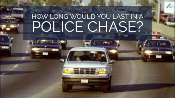 How Long Would You Last In A Police Chase?