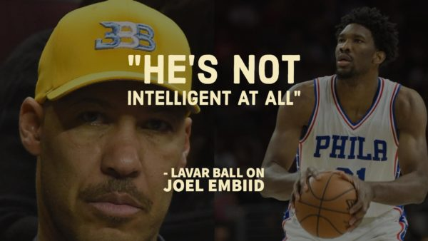 Shots Have Been Fired Between LaVar Ball and Joel Embiid