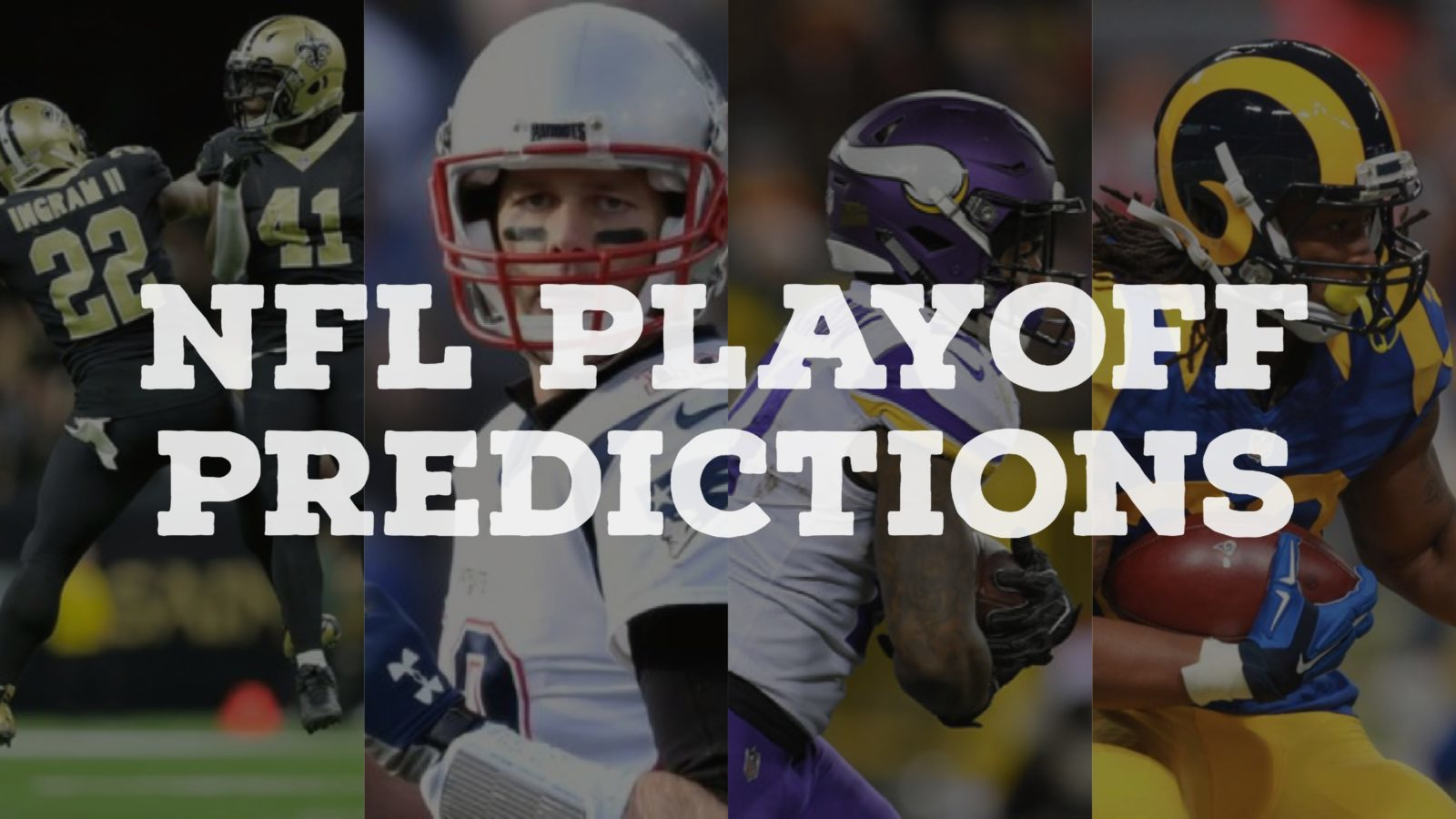 Football Playoff Rankings Out Top >> Predicting the Entire NFL Playoff Bracket + Super Bowl LII Winner