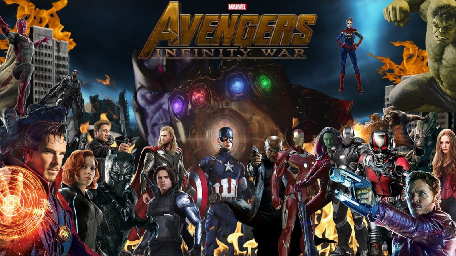 Marvel moves up 'Avengers: Infinity War' release date