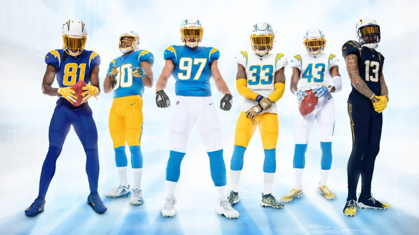 Grading each new NFL uniform: Chargers ace the test